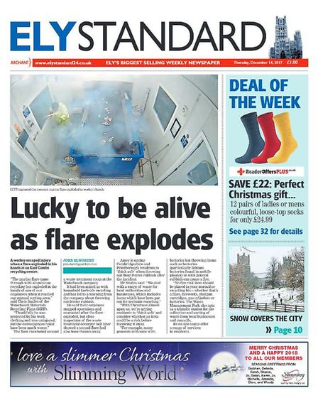 The Ely Standard in 2017.