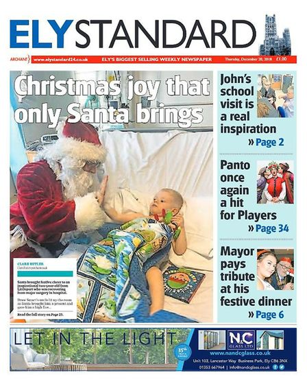 The Ely Standard in 2018.