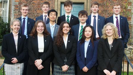 More than 40 King's Ely students have been presented with bronze and silver Duke of Edinburgh's (Dof