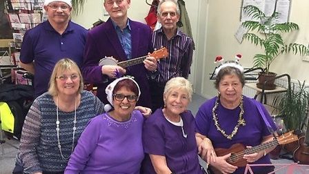 The Ely and District Parkinson's UK Support Group capped a busy year by holding a Christmas event. P