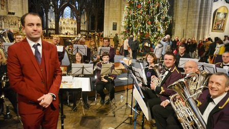 Wonderful Christmas concerts brought joy to audiences in Ely with Littleport Brass Band and Ely Chor