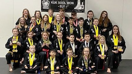 Kuk Sool Won-Ely produced a strong performance at the UK Championships in Liverpool. Pictures: LOUIS