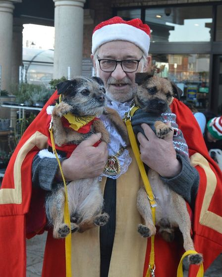 REVIEW 2019: Mayor of Ely Mike Rouse puts the wellbeing of the community first. Here he is with the