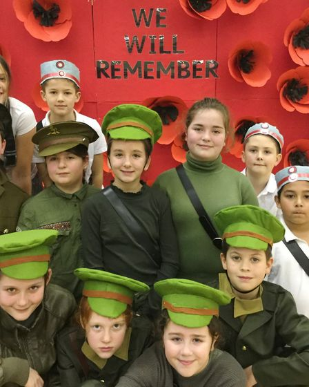 Pupils from a March primary school based their Christmas production on one of the most famous storie