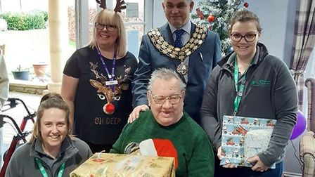 Care home residents in March spread festive cheer to those in need. Picture: SANCTUARY