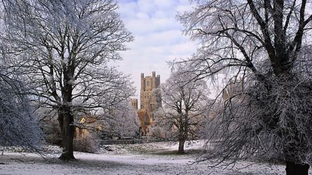 Ely Cathedral features in national prize winning photo. This was taken by Soham man Graham Barber. P