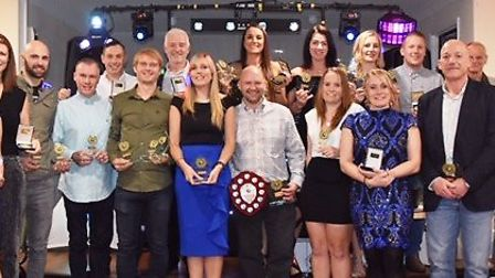Three Counties Running Club members capped a successful year at their annual awards night. Picture: