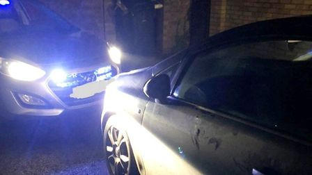 Two men were arrested in March following a theft from a car in Coates – an abundance of stolen items