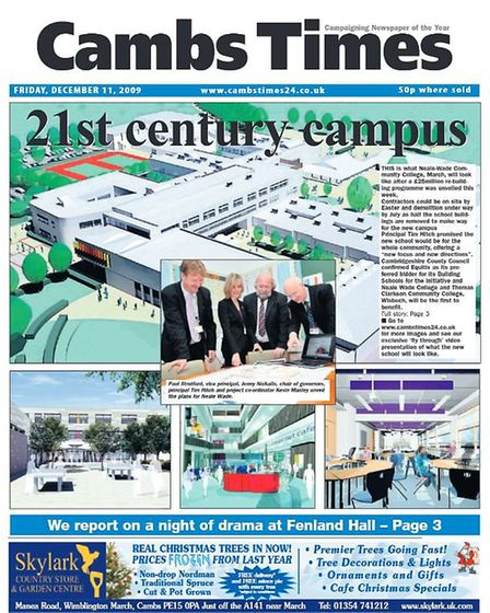 The Cambs Times in 2009.
