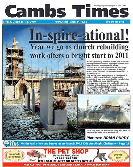 The Cambs Times in 2010.