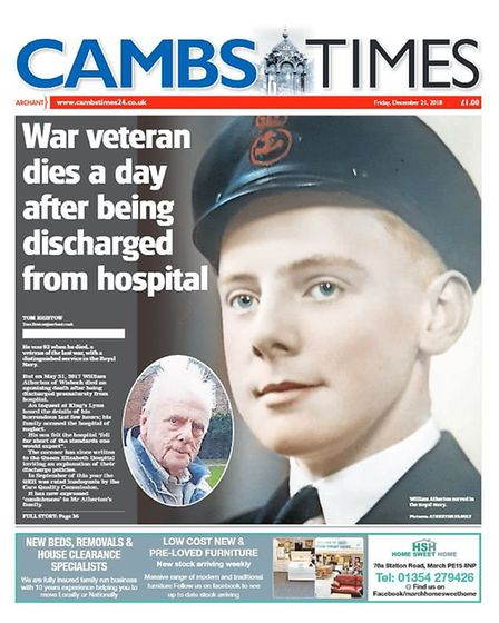 The Cambs Times in 2018.