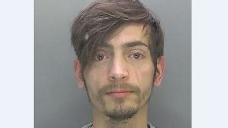 Drink driver Gigel Matei, 32, who had crashed his car into a house and was more than twice the legal