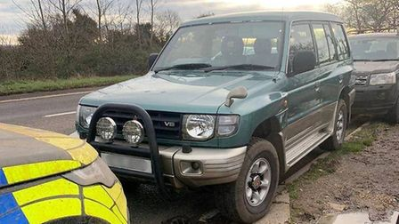 Hare coursers prosecuted and vehicles seized in East Cambridgeshire. Picture: EAST CAMBS POLICE/ RCA