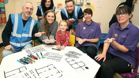 Children at Addenbrooke's Hospital get technology treats from Amazon. Picture: AMAZON/ADDENBROOKES