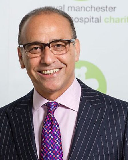 Dragons' Den star Theo Paphitis champions March community business. Picture: TWITTER/ CCORN