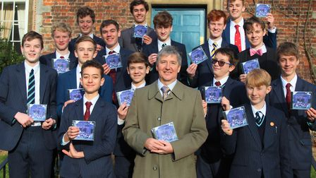 The King's Barbers a cappella group have released their first commercial CD. Picture: KING'S ELY