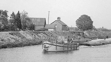 A stage for loading beet on Ouse near Littleport. Picture; SUBMITTED
