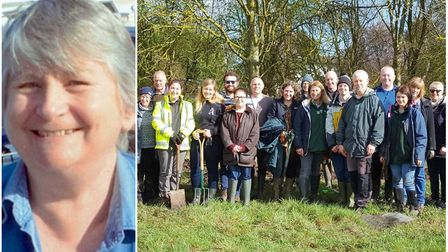 A nature reserve in Warboys created in memory of Madeleine Parnwell who tragically drowned when her
