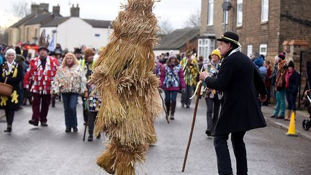 The 40th Whittlesey Straw Bear festival drew crowds from across Europe to enjoy this annual traditio