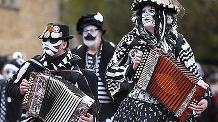 Crowds are set to line the streets of Whittlesey for its 41st Straw Bear Festival next weekend. Pict