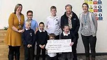 The Highfields Academy in Littleport received a grant of £9,760 to help create a sensory garden at t