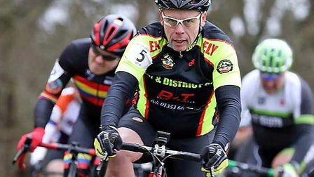 Neil Bowman in action for Ely & District Cycling Club. Picture: DAVEY JONES