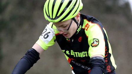 Andrew Hambling in action for Ely & District Cycling Club. Picture: DAVEY JONES