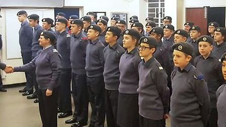 Sergeant Jean Donoghue returned to the Ely air cadets at the squadron's first parade night of 2020.