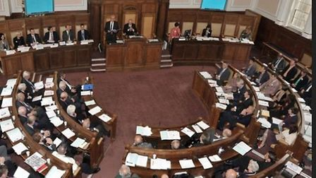 The gender pay gap at Cambridgeshire County Council has not budged from the level it was a year ago