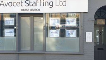 A recruitment agency has opened an office in Soham just over a year since director Denis Green first
