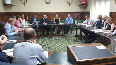 MP Lucy Frazer welcomed headteachers from across Cambridgeshire to a meeting with the Schools Minist