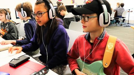 New music scheme launches in Cambridgeshire for youngsters to become popstars on a budget. Picture: