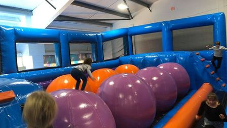 InflataNation Peterborough is a high-energy stamina-testing playground for all ages that's not to be