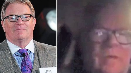 Comedian Jim Davidson (pictured) slammed his gig at the GER Club in March in a hilarious Facebook vi