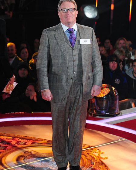 Comedian Jim Davidson (pictured enterting the Big Brother house) slammed his gig at the GER Club in