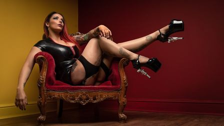 Some of the entries in Ely Photographic Club's Ken Hitch competition this year: Killer Heels Lookin