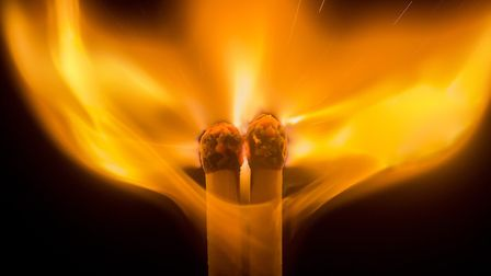 Some of the entries in Ely Photographic Clubs Ken Hitch competition this year: Fiery Kiss by Ryan Ba