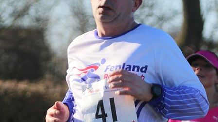 Fenland Running Club braved the cold weather to tackle the Folksworth 15 course. Pictures: FENLAND R