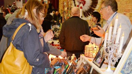 The Soul and Serenity Fair at The Maltings held by Positively Treated welcomed guests from across th