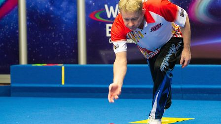 City of Ely star Greg Harlow gearing up for the Just 2020 World Indoor Bowls Championships. Picture: