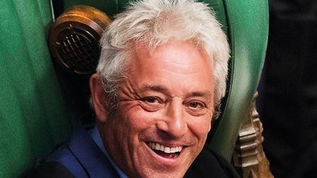 The former speaker of the House of Commons, John Bercow, is coming to Ely Cathedral on Friday Februa