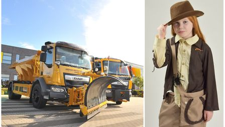 From Jack DeFrost to Buzz Ice Year. The names of 37 new gritters for Cambridgeshire have been reveal