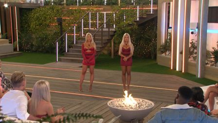 Love Island twins Eve and Jess Gale caused a stir in the second explosive episode of the winter seri