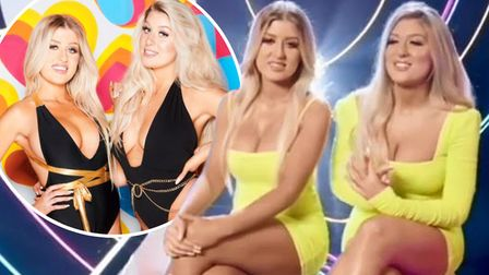 Blonde bombshells! Eve and Jess Gale from Cambridgeshire join the Winter Love Island line-up in show