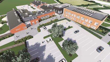 This is how Cromwell Community College will look after its £14.6 million expansion by Morgan Sindall
