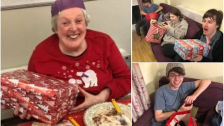 More than 200 gifts were donated for vulnerable people at risk of homelessness in Wisbech and Ely. P