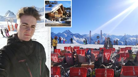 Reporter Harry Rutter (pictured) spent a week in La Plagne, France with Ski Beat and here is what he