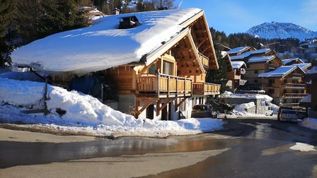 Outside view of Chalet Florence in Plagne 1800. Picture: Harry Rutter