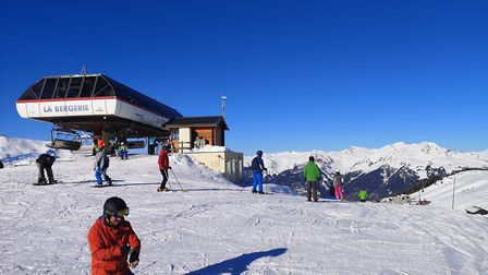 The top of the ski lift at Le Bergerie. Picture: Harry Rutter