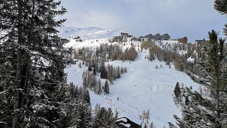 View from across the valley near Plagne Centre. Picture: Harry Rutter